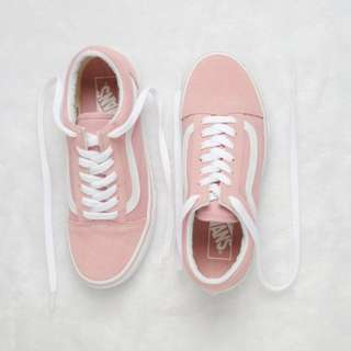 vans old school pink 🇺🇸美國版