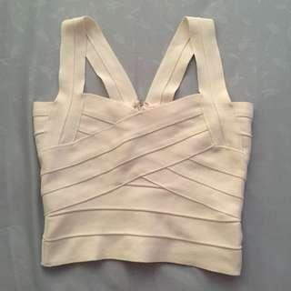 criss cross bandage top