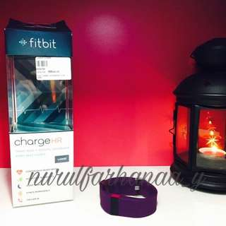 Fitbit Charge HR (Purple)