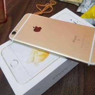 Iphone 6s 64  gold fullset