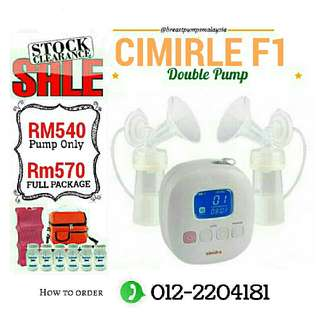 CIMIRLE F1 REACHARGEABLE DOUBLE PUMP