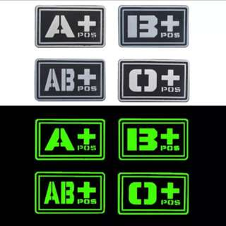 Luminous Velcro Badges Patch ILBV