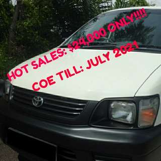 Toyota liteace for sales!!!