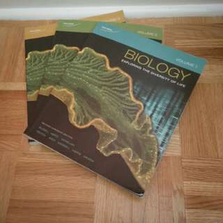 Biology 3 Volume Textbook Set