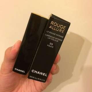 Chanel超炫耀絲絨唇膏#99(附睫毛膏試用)