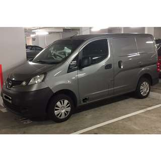 Nissan NV200 1.5 Manual Panel Van