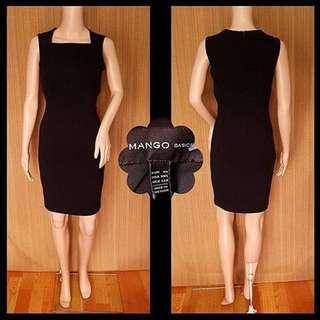 (REPRICED!) MANGO Black Dress
