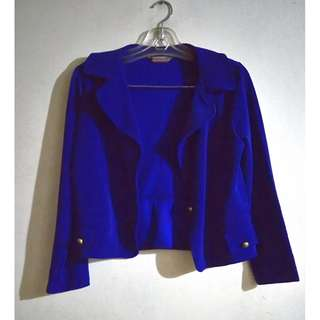 Half Blazer in Dark Blue