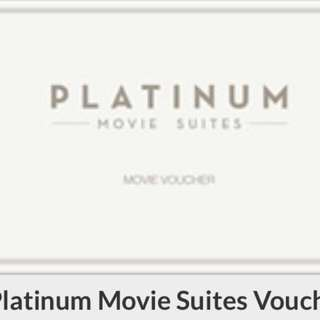 (Cathay) Platinum Movie Suites Voucher available for movie on weekdays and weekends.                           7 tix available