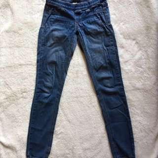 La Garage Elastic Waist Jeans