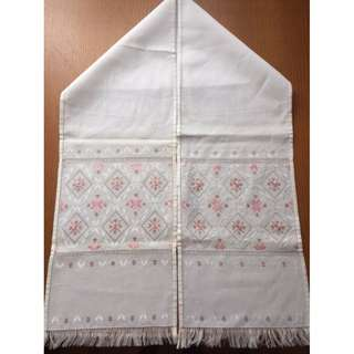 Ukranian Hand Embroidered Wall Hanging / Table Runner