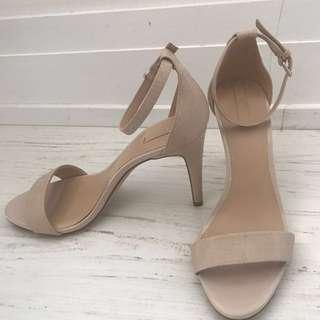 Aldo tan stilettos size 7 (worn once)