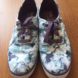 Keds Taylor Swift Collection Lilac Floral Shoes - Size 11