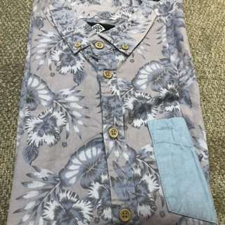Cotton On - floral short sleeved shirt