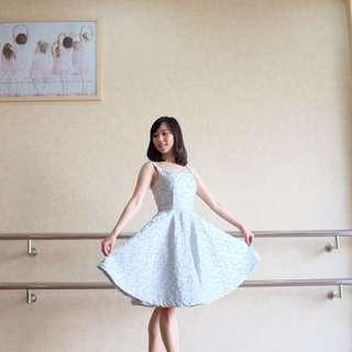 Poppy dress po custom size