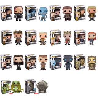 LF: Funko Pop! Game of Thrones (Will be buying in December)