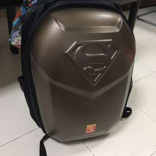 Superman Papa Shield Diaper Bag