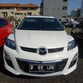 mazda cx 7. 2011. 55juta over credit