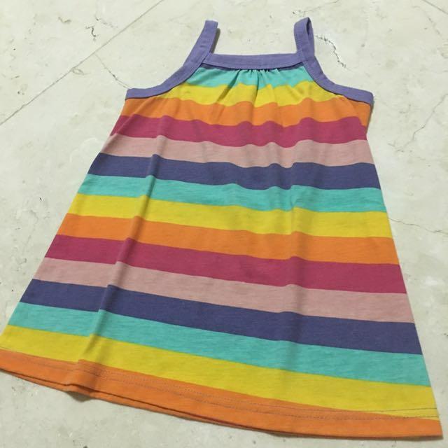 2-4Y Stripes Dress/Top