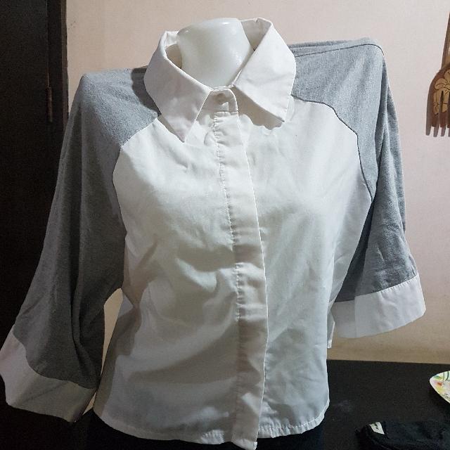 3/4 Korean Polo w/ Cotton Sleeves