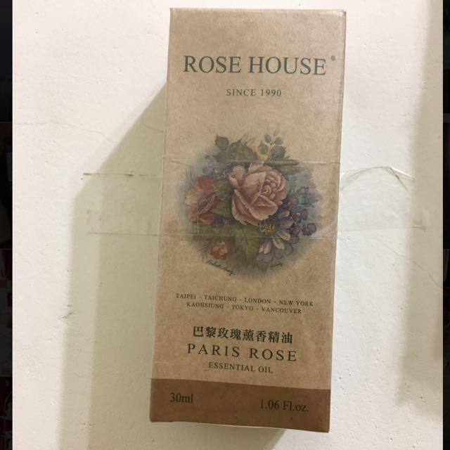 古典玫瑰園巴黎玫瑰薰香精油