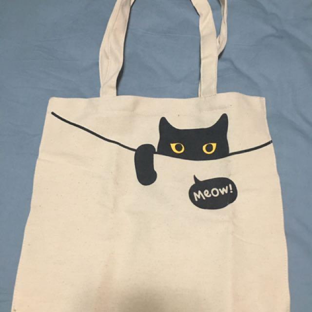 貓咪帆布袋