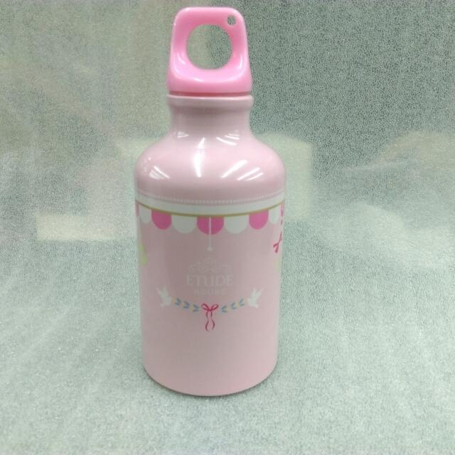 **出清** EDUDE HOUSE 夢幻粉紅公主風隨身水瓶