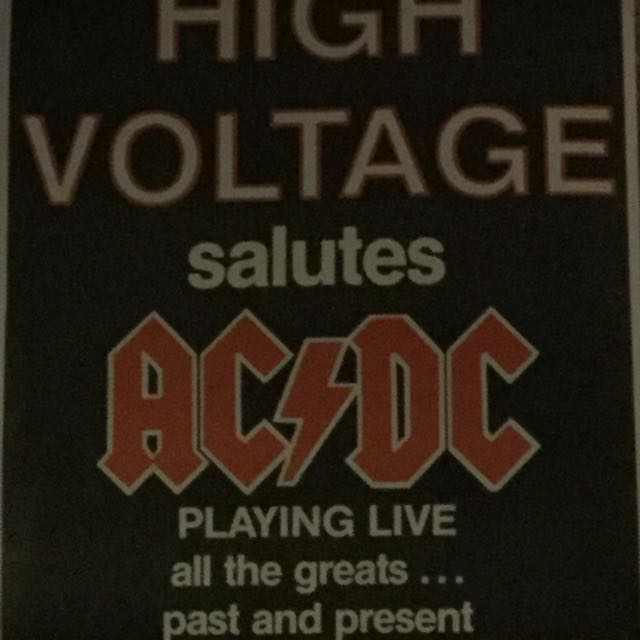 AC/DC posters original
