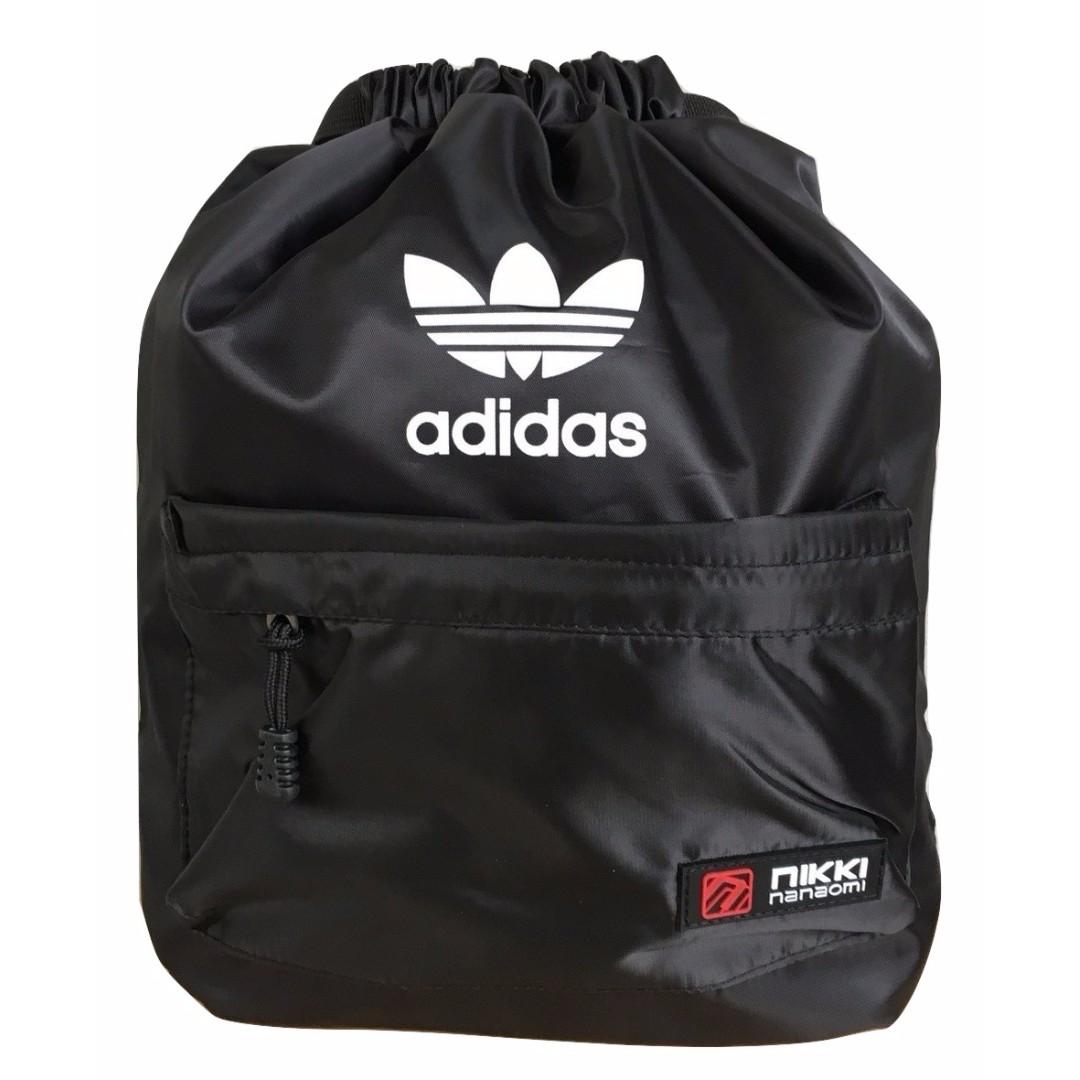 Adidas drawstring bag   school bag   casual bag   gym bag   travel ... c5228f44be