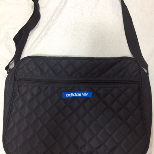 Adidas laptop messenger bag, never used