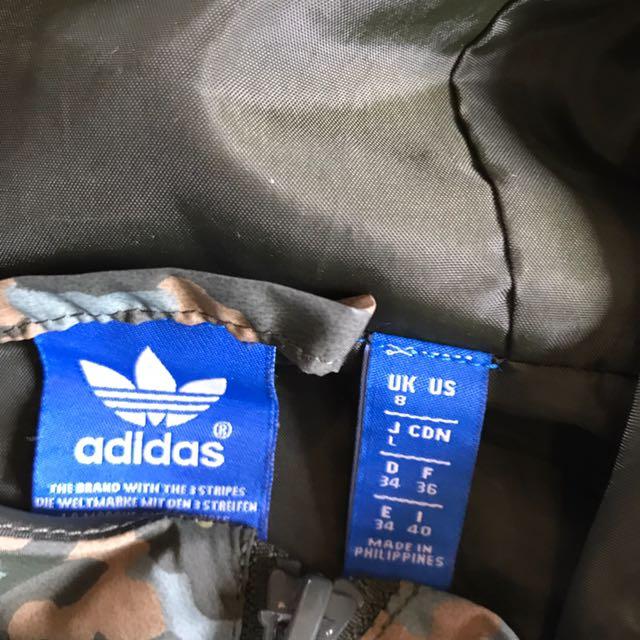 Adidas Originals Camo Windbreaker