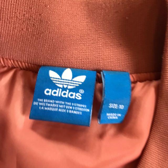 Adidas Originals Pink Bomber Jacket