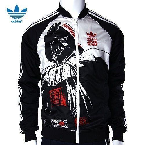 promo code 30d55 e4f35 Adidas Star Wars Darth Vader Superstar Black Jacket, Mens Fa