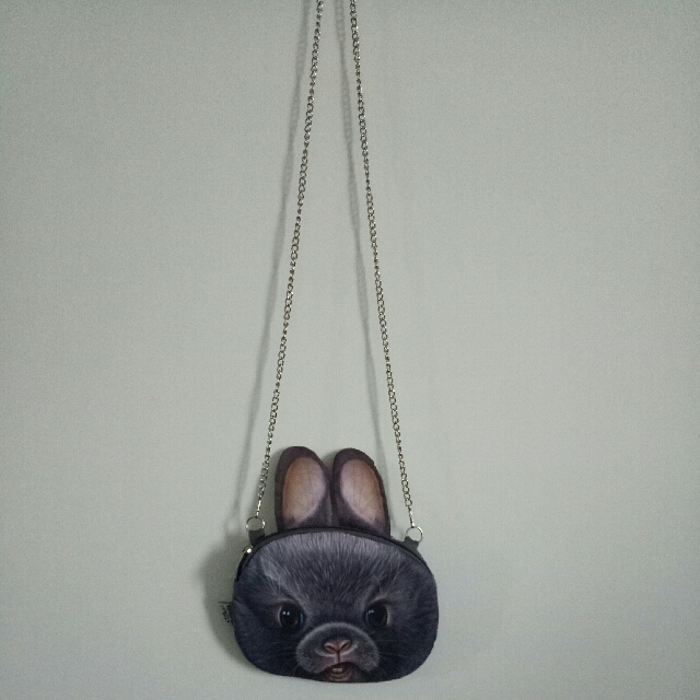 Animal face 3D bag