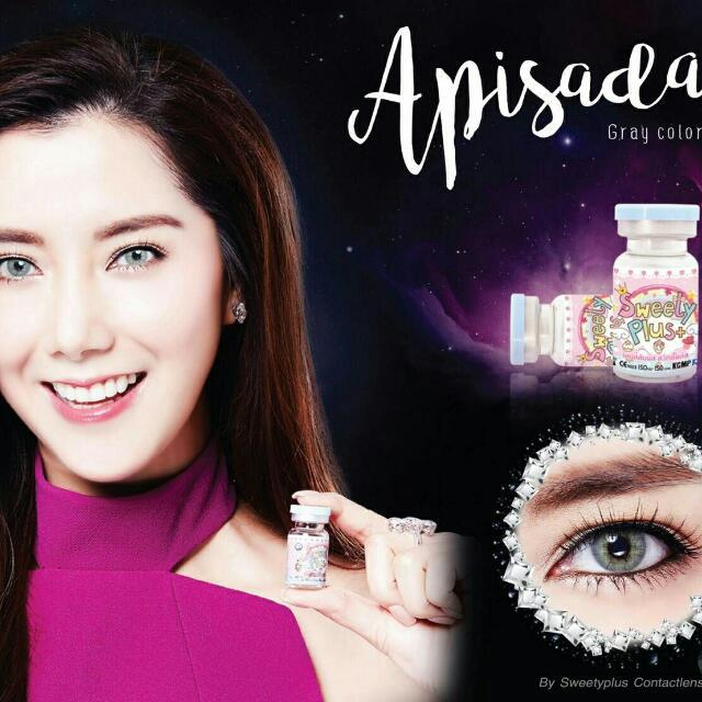 RUSH!!! Apisada Gray Contact Lens