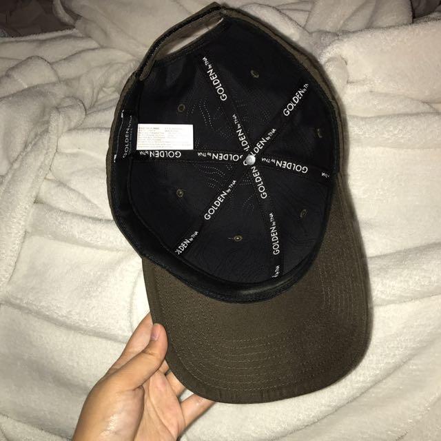 Aritzia baseball cap (army green)