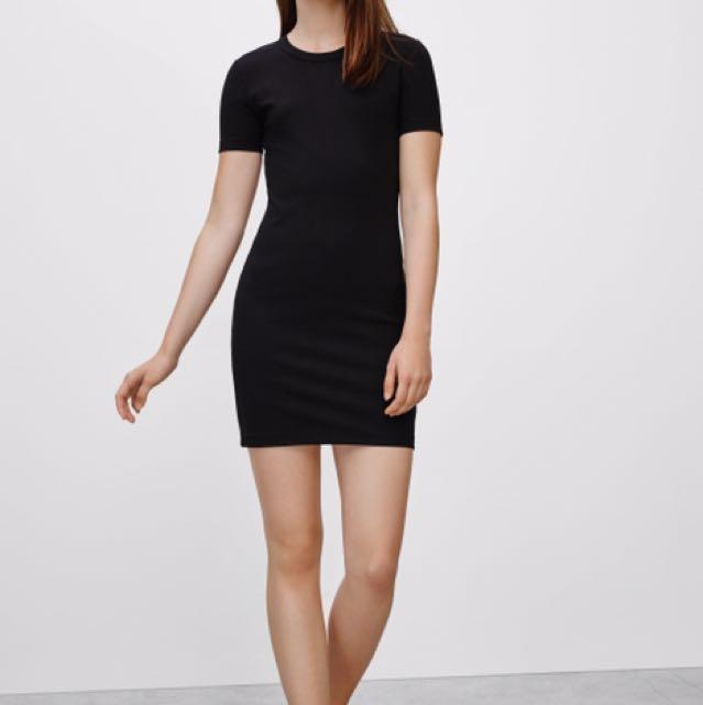 Aritzia Sunday's best black dress