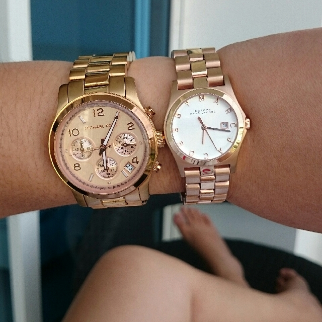 auth Mk and MBMJ watches