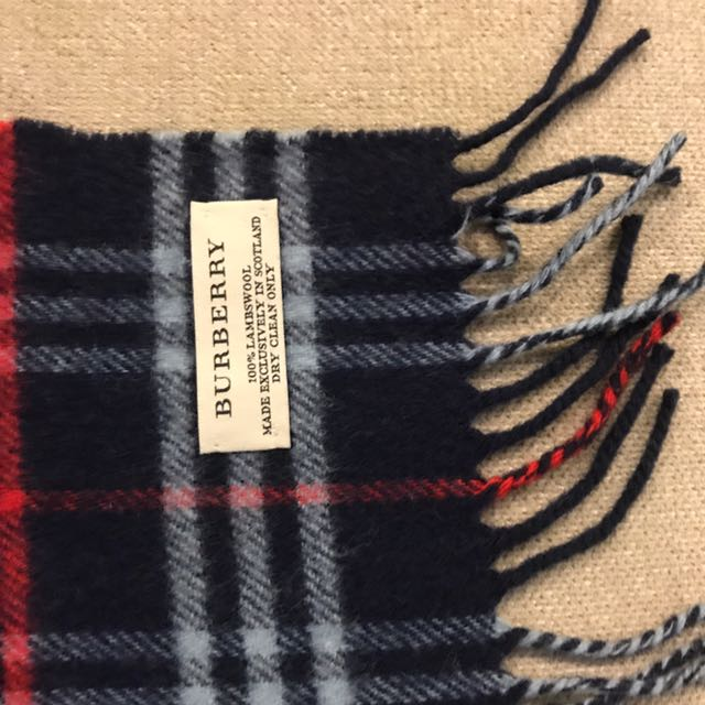 cf1db181d2e5 ... new zealand authentic burberry scarf luxury accessories on carousell  d23dc eaf1b