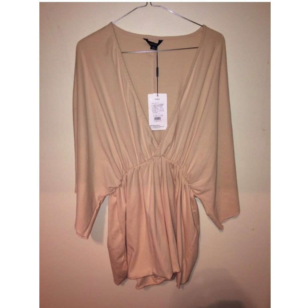 Beige/nude playsuit
