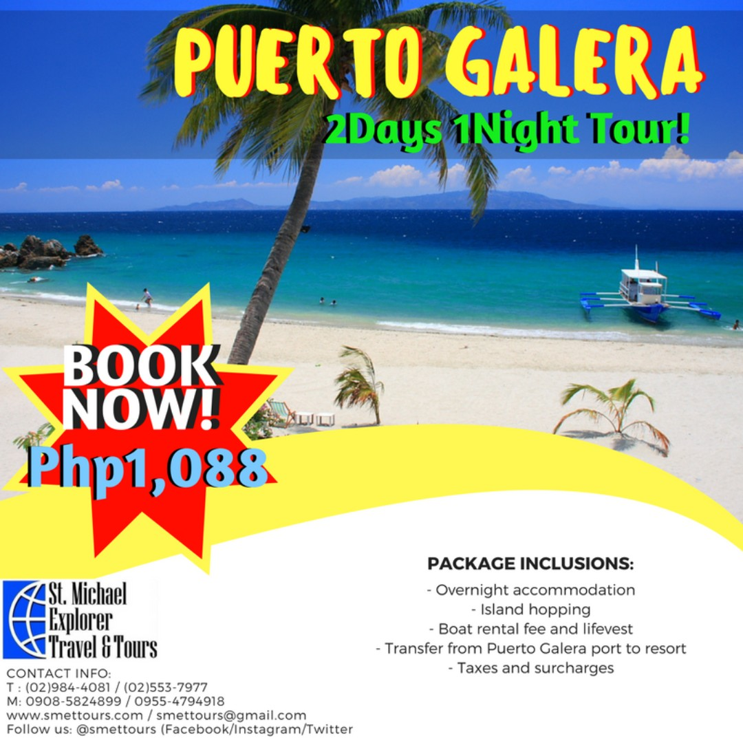 puerto galera and boracay island comparison Puerto galera has been known for its beautiful beaches one of these beaches thats really popular to tourist is the white beach puerto galera.