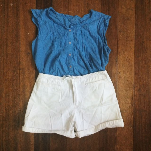 BLOUSE (BLUE)