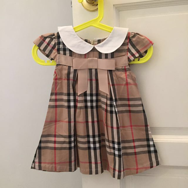 0b66540a7517 Burberry Girls Dress Toddler, Babies & Kids, Girls' Apparel on Carousell