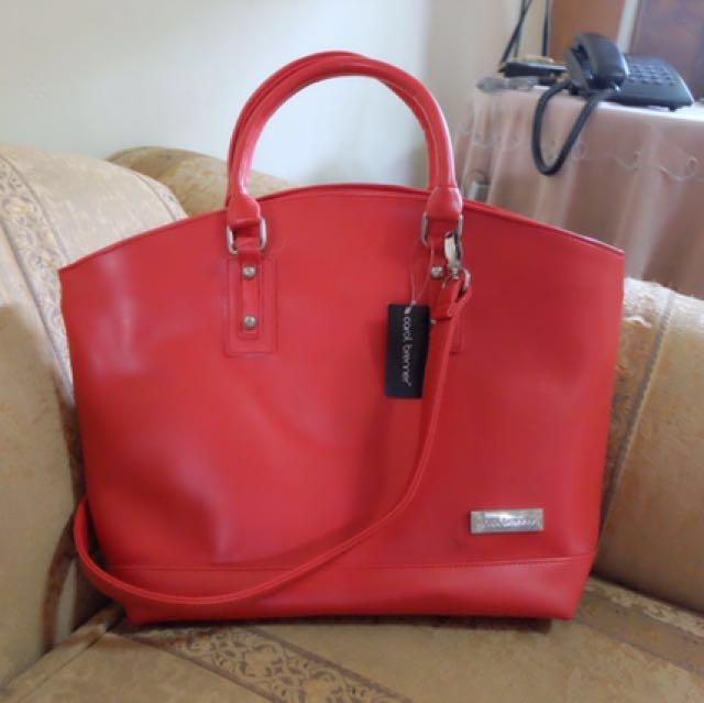 Carol brenner red bag