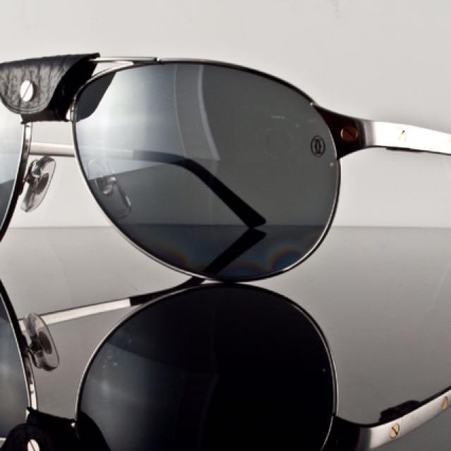 da199e0ec8 Cartier Cartier Santos Nuovo Sunglasses Source · Cartier Sunglasses  T8200908 Santos Dumont Racing Luxury