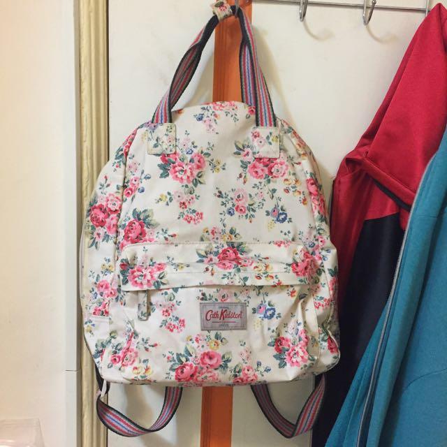 Cath Kidston碎花後背包#我有後背包要賣