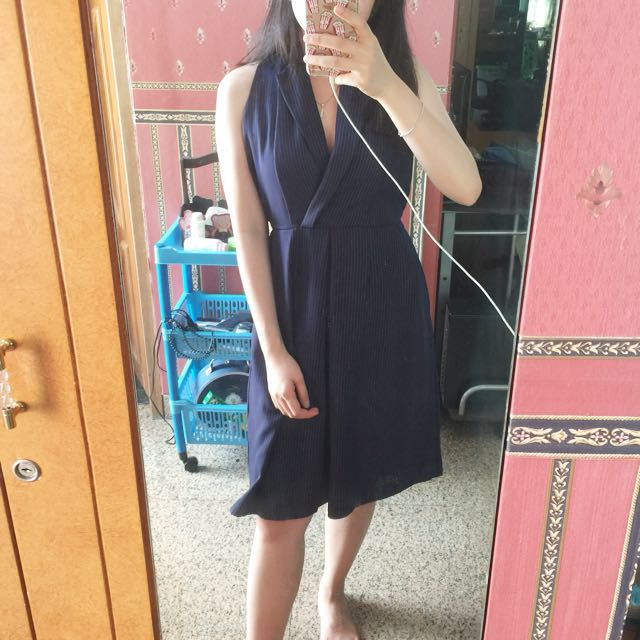 CLASSY Navy Dress