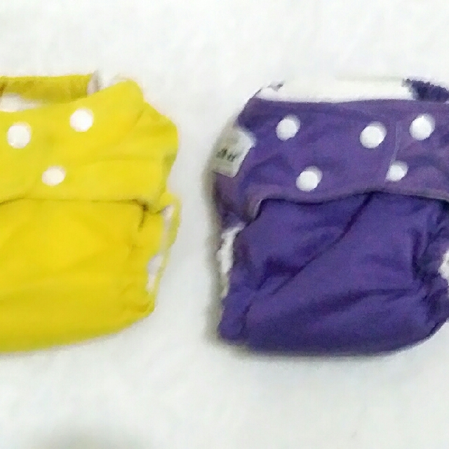 Cloth Diapers / Clodi Fuzzy BunZ
