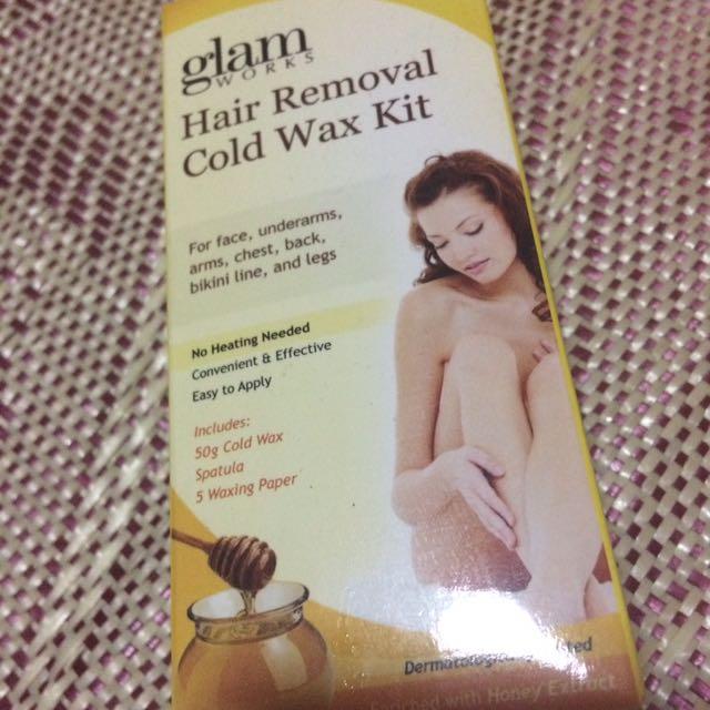 Cold wax kit