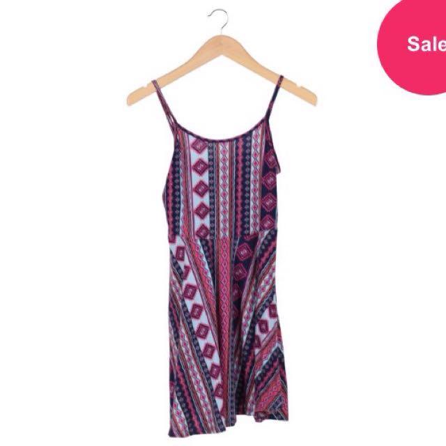 Cotton On Multi Colour Trival Sleeveless Mini Dress